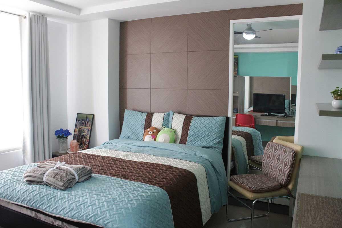 Comfy Greeny Room @ Calyx Centre