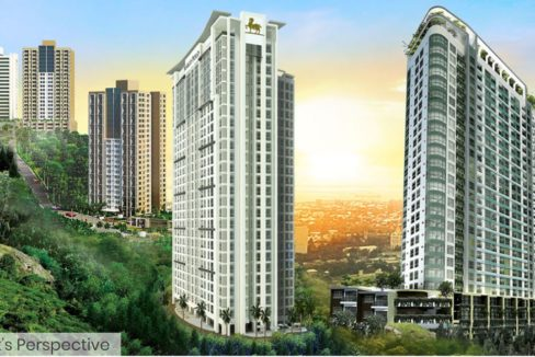Marco Polo Residences Perspective